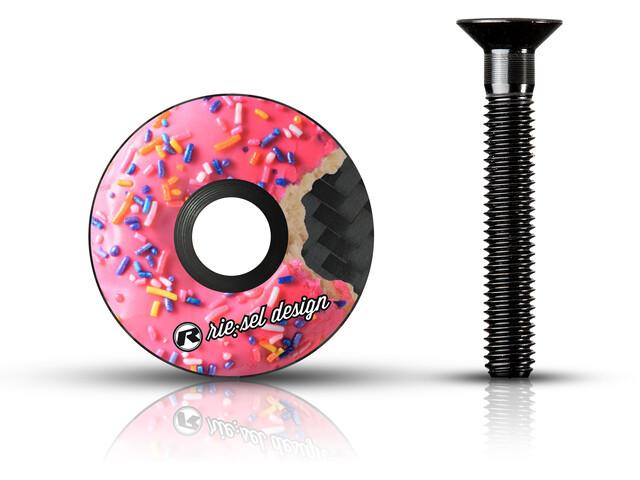 Riesel Design stem:cap pour jeu de direction, donut MK II